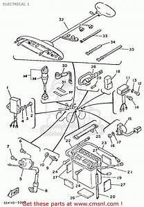 Yamaha Yfm80n 1985 Moto-4 Electrical 1