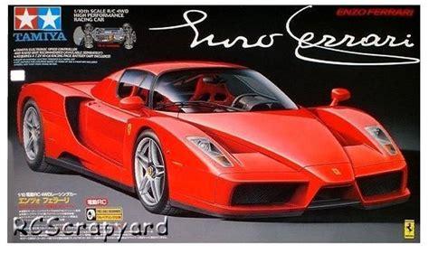 Fujimi assembled model 1/24 ferrari 330p4 sports car #12575. 58298 • Tamiya Enzo Ferrari • TB-01 • (Radio Controlled Model Archive) • RCScrapyard.