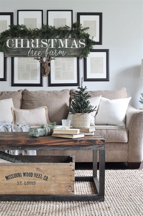 rustic natural neutral christmas style series