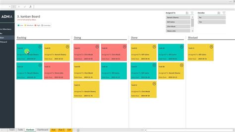 automated kanban excel template youtube