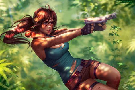 Lara Croft Tomb Raider Fanart, Hd Games, 4k Wallpapers