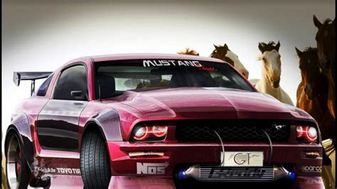 cars tuning ford mustang  gt wallpaper