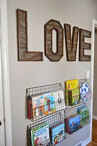 Kruse39s workshop love letters for Wall letter designs