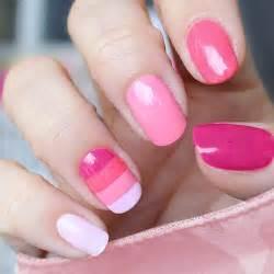 Pink colors nail art nails frenzy