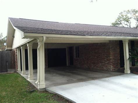 Add Garage Door To Carport by Adding A Carport To Garage Contemporary Garage And 3 Car