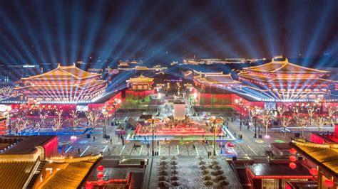 大唐不夜城,新年最欢腾!_发现频道_中国青年网