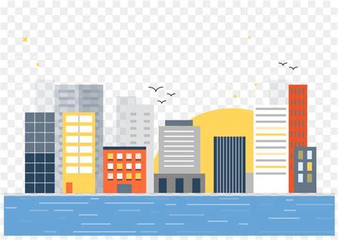 architecture landscape illustration vector city building