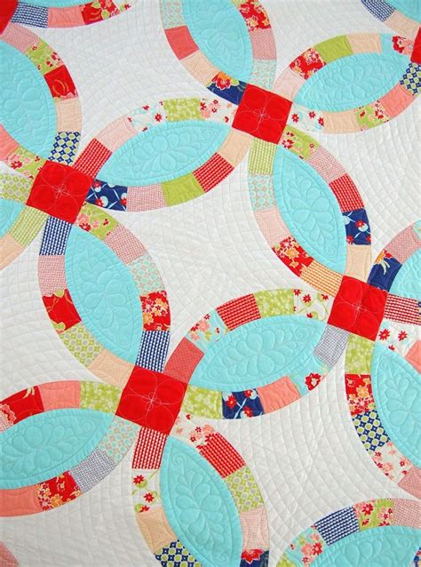 82 best images about double wedding ring quilts on