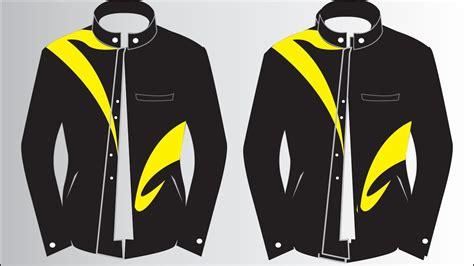 corel draw tutorials   membuat desain baju jaket