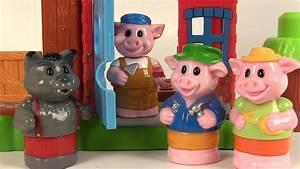 Youtube Trois Petit Cochon : mega bloks les trois petits cochons et le loup 3 little ~ Zukunftsfamilie.com Idées de Décoration
