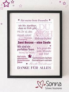 Persönliche Geschenke Beste Freundin : kissen f r die beste freundin mit widmung diys ~ Orissabook.com Haus und Dekorationen