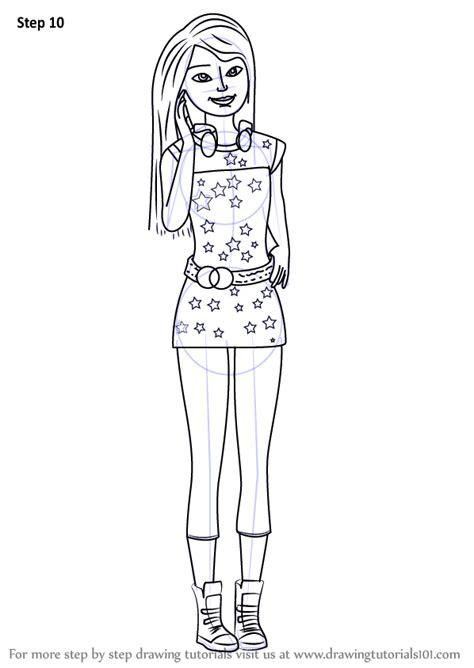 learn   draw skipper  barbie life   dreamhouse barbie life   dreamhouse