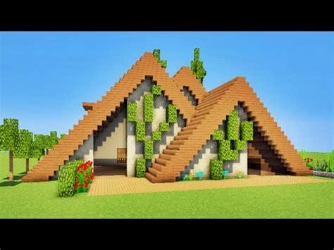 minecraft maison moderne en bois minecraft tuto maison moderne en bois p