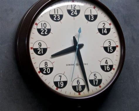 Military Time Chart Or 24 Hour Clock Convert