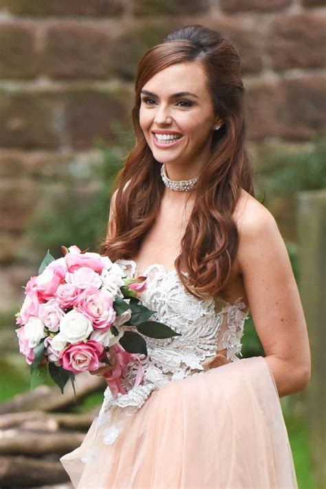 Mercedes is currently awaiting trial after framing. 'Hollyoaks' Spoilers: Jennifer Metcalfe Pictured Filming In Wedding Dress, But Will Mercedes ...