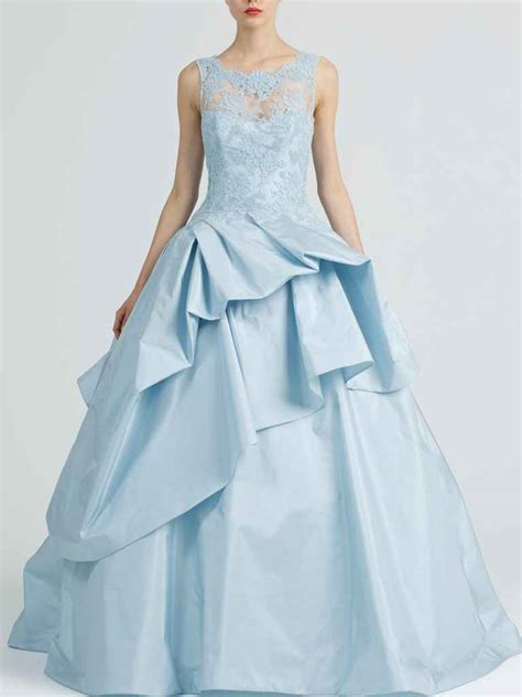 dreamy blue wedding gowns