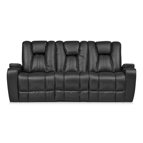 black leather sectional sofa with recliner black leather recliner sofas furniture reclining leather