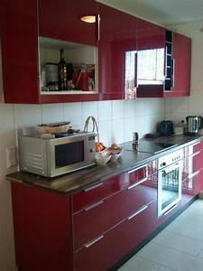Küche Rot Hochglanz : k che rot hochglanz mit edelstahlger ten in sachsenheim k chenzeilen anbauk chen kaufen und ~ Yasmunasinghe.com Haus und Dekorationen