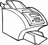 Coloring Printer Office Computer Canon Electronic Printable Technology Electronics Drawing Test Hp Coloringpages101 Getcolorings Supercoloring Getdrawings sketch template