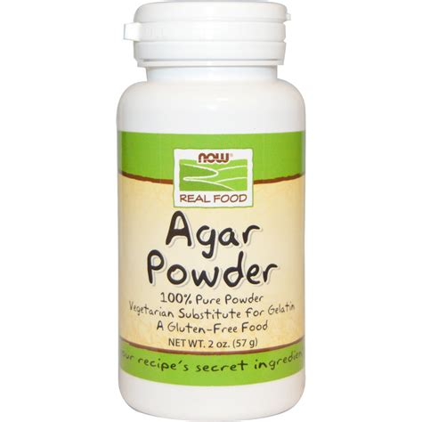 agar agar cuisine now foods food agar powder 2 oz 57 g iherb com