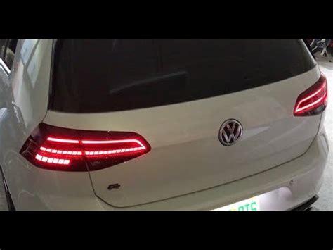 golf mk facelift dynamic led tail lights  harness