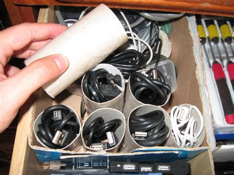 store cables  cords