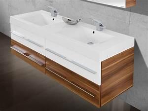 Waschtisch Mit Unterschrank 160 Cm : badezimmerm bel doppelwaschbecken ~ Bigdaddyawards.com Haus und Dekorationen