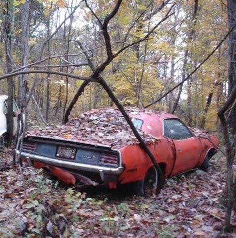 Abandoned Car  Abandoned Exotic Cars  Pinterest Mopar