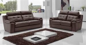 salon 32 cuir chicago personnalisable sur univers du cuir With salon canapé en cuir