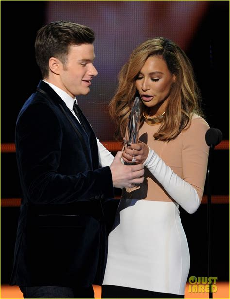 Chris Colfer Wonders How Naya Rivera Could Be So Talented ...