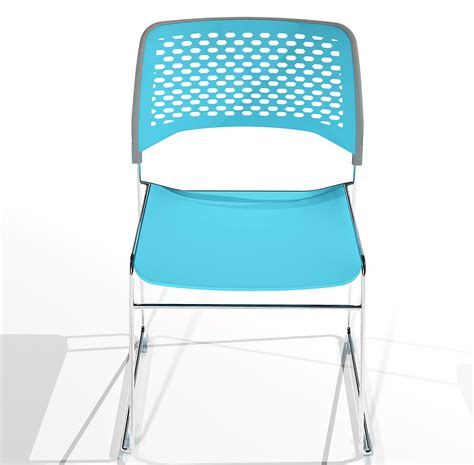 alex high density stacking chair on behance