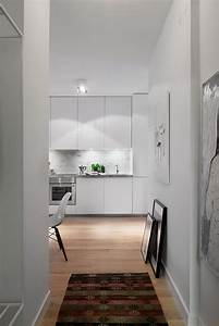 Stylish 420 Square Foot Small Apartment With Modern