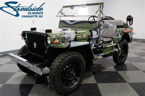 1945 Willys Mb Military Jeep For Sale #50606