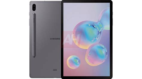 samsung galaxy tab s6 release date the tablet will launch with a rear mounted s pen and no
