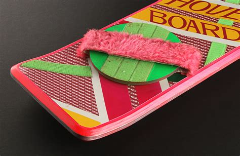 Mattel Hoverboard Skateboard Deck by The Prop Store Collection Presents Marty Mcfly S
