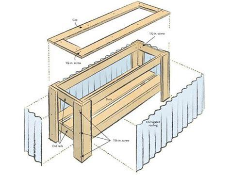 Diy Urban Planter Box Plans