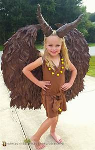 Coolest DIY Young Maleficent Costume - Make Heads Turn!