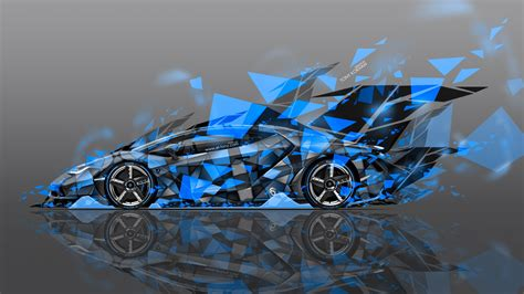 Abstract Car Wallpaper 4k by Lamborghini Centenario Side Abstract Aerography Car