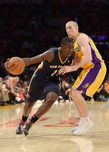 Jrue Holiday in New Orleans Pelicans v Los Angeles Lakers ...