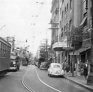 SÃO PAULO RUA CRISTÓVÃO COLOMBO, EM 1957