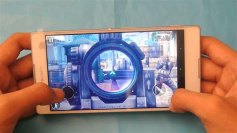 Sony Xperia T2 Ultra Modern Combat 5 Blackout Gameplay