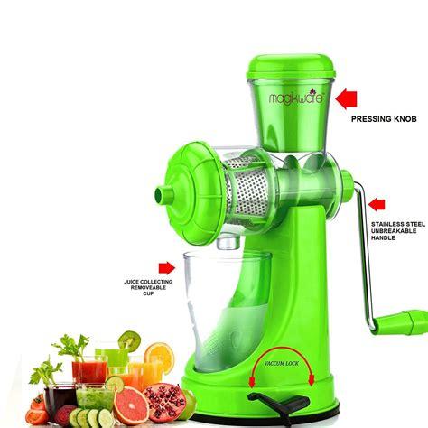 juicer fruit manual vegetable hand plastic handle deluxe steel super tapasvi installation shopclues