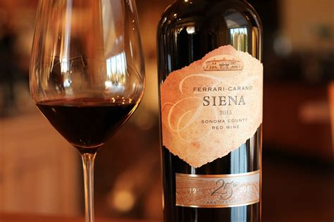 Ferrari-carano Siena Red Blend Turns 25 With Special