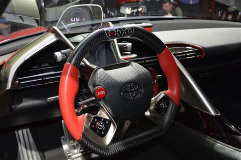 toyota ft  concept trades dials  gauges  fighter
