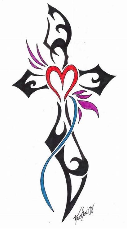 Tribal Cross Tattoo Inofashionstyle