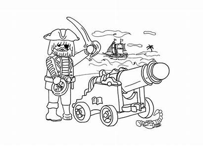 Coloring Playmobil Coloriage Playmobils Imprimer Pages Dessin