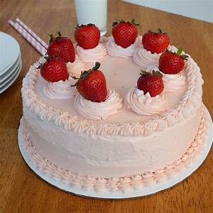 Southern Strawberry Cake for My Dad's Birthday - From