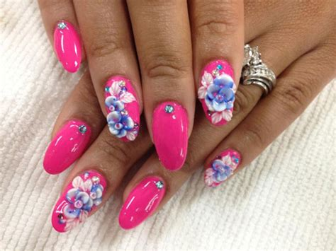 3d nail designs 15 best 3d acrylic nail designs ideas 2013 for
