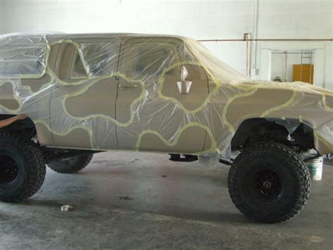 hunting truck camo stencils for cars autos post