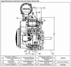 Kohler Engine Ech740